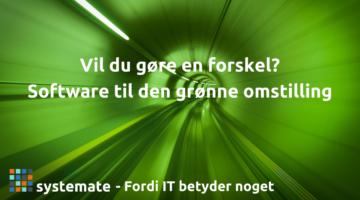 Lad dine kompetencer inden for backend udvikling bidrage direkte til Danmarks grønne omstilling