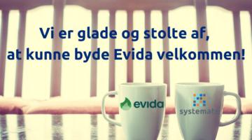 Systemate vinder rammeaftale med Evida.
