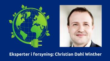 Eksperter i forsyning: Christian Dahl Winther